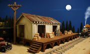 G Scale Freight Depot Building For Use W Lgb Accucraft Train Track And Locomotives