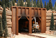 G Scale Twin Train Tunnel Portal For Use W Lgb Accucraft Mth Track Locomotives