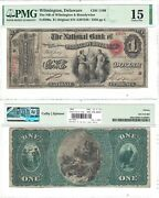1865 1 National Bank Of Wilmington And Brandywine De Pmg Choice Fine-15