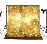 Dodoing 10x10ft Christmas Spots Balls Photographic Background Blur Fancy Gold...