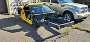 2001 Corvette Z06 Body Shell Frame Assembly Chassis Donor Race Car