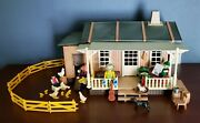 Playmobil Vintage 3769 Farmhouse Chickens-100 Complete-instructions-see Note