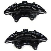Set-ac1722674-f Ac Delco 2-wheel Set Brake Calipers Front Driver And Passenger New