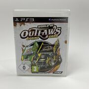 World Of Outlaws Sprint Cars Sony Playstation 3 Ps3 - Pal German Version