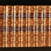 1858-76 30vol The Works Of Charles Dickens Illustrated Library Edition Leather