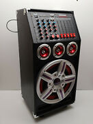 Patron Pro Audio Speaker System With 2.0ch Big Power Pro Mixer Sd/usb/mp Reader