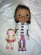 Disney Doc Mcstuffins Time For Your Checkup Interactive Talking + Lambie