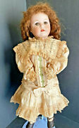 Antique Max Handwerck Bebe Elite Bisque Head Character Doll 20 Marked Body