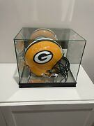 Aaron Rodgers Signed Packers Proline Helmet Rare Inscription And Steiner Cert