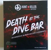 Hunt A Killer Death At The Dive Bar Immersive Murder Mystery Game -- New
