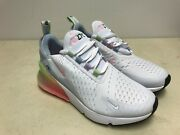 Nike Air Max 270 Move With Her Shoes Size 4.5y White Shoes Sneakers Womenand039s 6