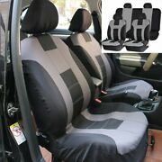 Universal Car Seat Covers Full Set Front And Rear Bench For Most Car Truck Suv Van