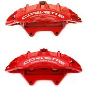 Set-ac1722712-f Ac Delco Brake Calipers 2-wheel Set Front Driver And Passenger New