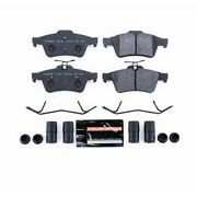 Psa-1095 Powerstop 2-wheel Set Brake Pad Sets Rear New For Chevy Ford Focus 9-3