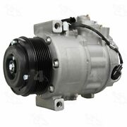 158376 4-seasons Four-seasons A/c Ac Compressor New For Mercedes With Clutch