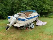 1985 Bayliner Capri 18ft Good Condition Outboard And Trailer Included