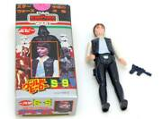Star Wars Action Collectors Stand World Hero Han Solo Kenner Made In Japan