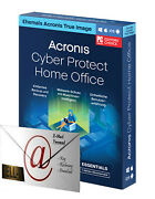 Acronis Cyber Protect Home Office Essentials Andbull 1 3 Oder 5 Pc / Mac Andbull 1 Jahr