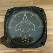 Vintage General Electric Buaer Navy Compass Directional Gyro G2