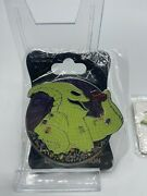 Disney Wdi Oogie Boogie Villains Profile Le 250 Pin Nightmare Before Christmas