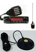 Combo Anytone At-588 220mhz Mobile Radio With Taurus Nmo Antenna With Mag Mount