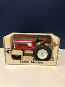 Ertl White Oliver 1855 Toy Tractor Narrow Front 1/16 Scale Model With Box