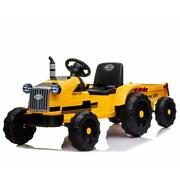 Agricultural Vehicle Toy 12 Volt Ride On Tractor Electric Remote Control Horn
