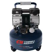 Campbell Hausfeld 6 Gal Quiet Air Compressor Corded Electric Pancake Oil Free