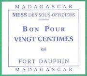 French Military 3 -madagascar -fort Dauphin -mess Des Offic 2 - More On Ebay.pl