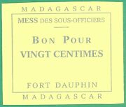 French Military 2 -madagascar -fort Dauphin -mess Des Offic 1 - More On Ebay.pl