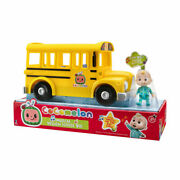 Cocomelon Musical Yellow School Bus For Kids Xmas Birthday Gift Item A1