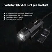 Tactical Led Flashlight Led Hunting Torch Light 3-modes Pistol Lamp And Rat Tail