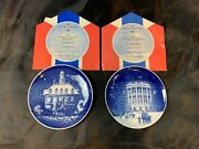 Bandg Bing And Grondahl Denmark Christmas In America Jubilee Edition 1986 And 1987