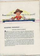 Scouting Yesterday Today Tomorrow America's Future Vintage 1930s Boy Scout Book