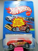 Hotwheels...vintage 1981 Carded Rare France Unpunched...and03967 Camaro