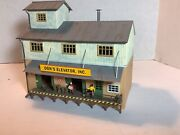 Ho Scale 187 Don's Elevator, Inc Agro Grain Lighted Detail Painted Weathered