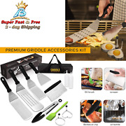 Grill Griddle Accessories Kit Blackstone Barbecue Tool Outdoor Bbq Cooking Set