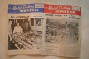 Lot Of 2 Amc Model Railway Newsletter 1975 Issues 100 And 101