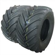 Set Of 2 26x12.00-12 Lawn Mower Tractor Tires 4 Ply 26x12-12 Tubeless