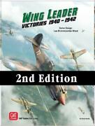 Gmt Wwii Wargame Wing Leader - Victories 1940-1942 2nd Ed Sw