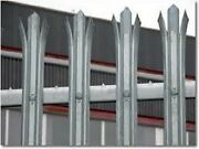 44mtrs 16 Bays 2.4m High Palisade Fencing Galvanised Complete