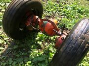 Economy Powerking Power King Complete Rear-end Axle With Rims And Tires