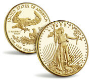 Sealed American Eagle 2021-w One Ounce Gold Proof Coin 21eb