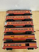 O Gauge Williams Southern Pacific Daylight 6 Piece Passenger Car Set No Boxes