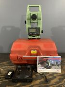 Leica Tcr 303 Reflectorless Surveying Total Station W/case And Accessories