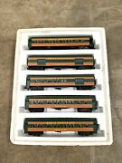 Williams O Gauge Great Northern Empire Builder Passenger Car Sets New In Box