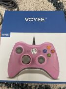 Voyee Replacement Wireless Game Controller For Xbox 360 Pink