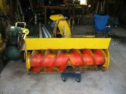 Economy Power King Tractor 48 Snow Blower And Mule Drive