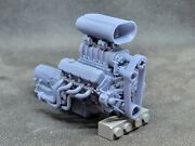 Blown 572 Bbc Model Engine Resin 3d Printed 132-18 Scale