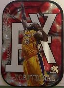 1999-00 Fleer Skybox E-x E-xceptional Red Shaquille Oand039neal Shaq Daddy